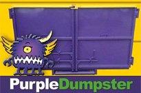 Purple Dumpster